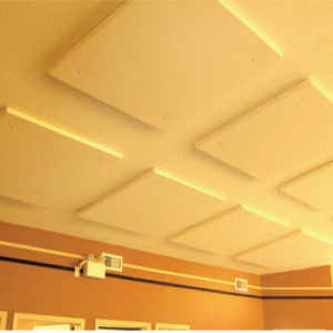 Ceilings strongly impact room acoustics