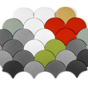Ginkgo Acoustic Panels In Colours and Neutrals
